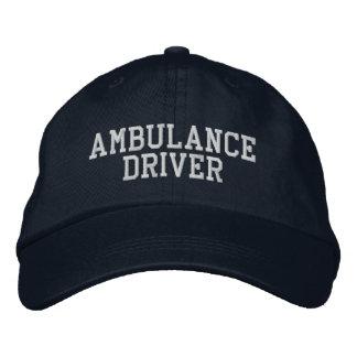 Ambulance Driver Embroidered Hats