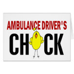 Ambulance Driver's Chick Cards