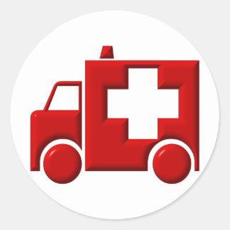 Ambulance / EMT Classic Round Sticker