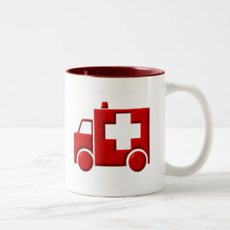 Ambulance / EMT Two-Tone Coffee Mug