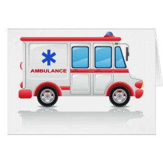 Ambulance Greeting Cards