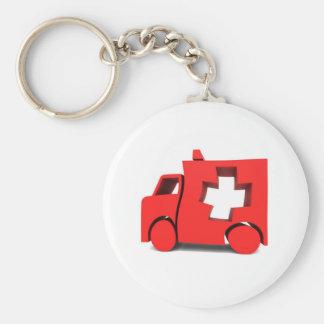 ambulance keychain