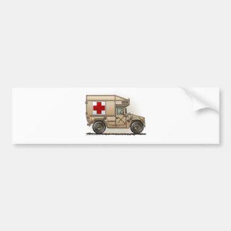Ambulance Military Hummer Medic Car Bumper Sticker