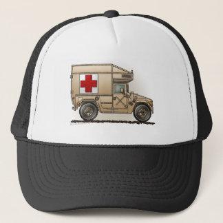 Ambulance Military Hummer Medic Trucker Hat