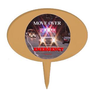 Ambulance_Move_Over.gif Cake Topper