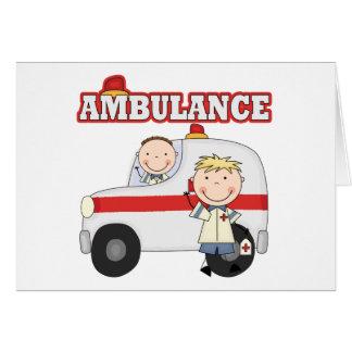 Ambulance T-shirts and Gifts Greeting Card