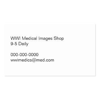 Ambulance Truck on Bridge WWI Business Card
