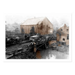 Ambulance Truck on Bridge WWI Large Business Cards (Pack Of 100)