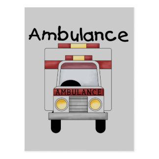 Ambulance Tshirts and Gifts Postcard