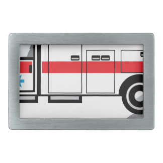 Ambulance vector belt buckle