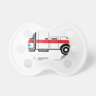 Ambulance vector pacifier