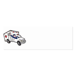 Ambulance Vehicle Emergency Medical Technician Par Business Card