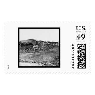 Ambulance Wagons and Drivers 1863 Postage Stamps