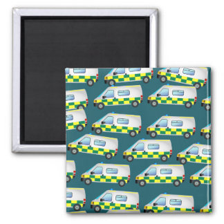 Ambulance Wallpaper Magnet