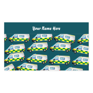 Ambulance Wallpaper, Your Name Here Business Card