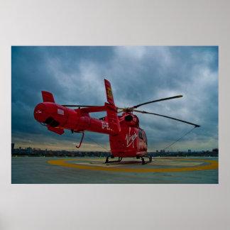 Ambulancia aérea de Londres Póster