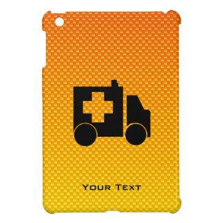 Ambulancia amarillo-naranja iPad mini protectores