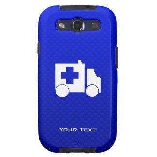 Ambulancia azul samsung galaxy s3 cárcasas