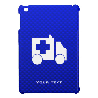 Ambulancia azul iPad mini carcasas