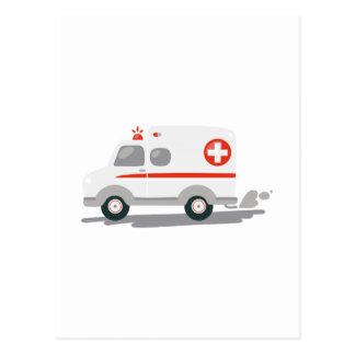 Ambulancia de EMT Tarjeta Postal