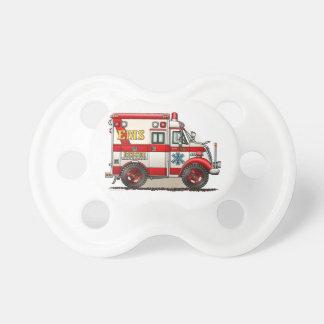 Ambulancia del camión de la caja chupete de bebé