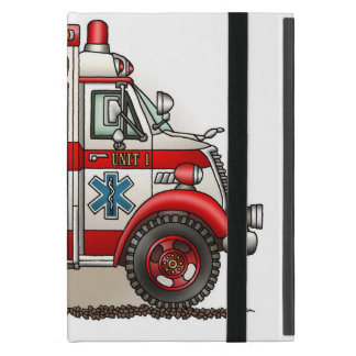 Ambulancia del camión de la caja iPad mini protector