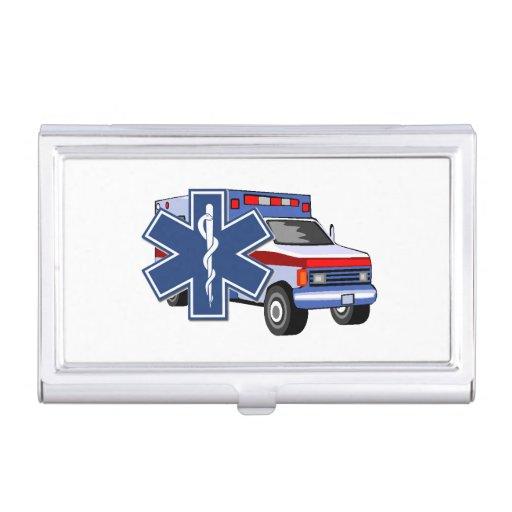 Ambulancia del ccsme cajas de tarjetas de visita