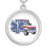 Ambulancia del ccsme colgante redondo
