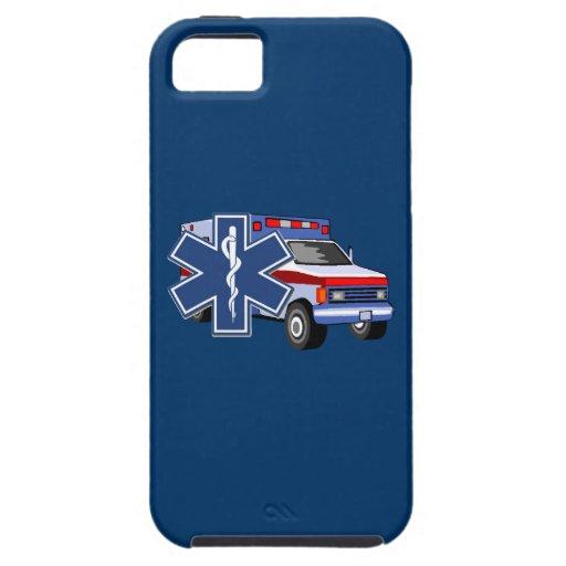Ambulancia del ccsme iPhone 5 carcasas