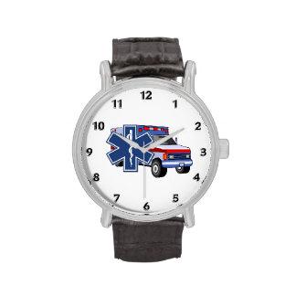 Ambulancia del ccsme relojes de pulsera