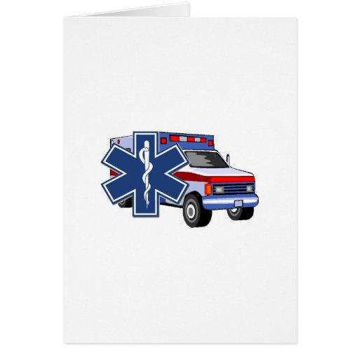 Ambulancia del ccsme tarjeta pequeña