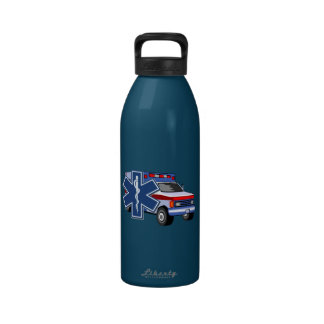 Ambulancia del ccsme botellas de agua reutilizables