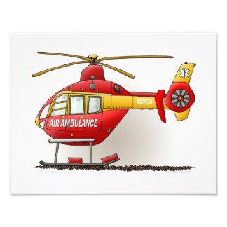 Ambulancia del helicóptero fotografías