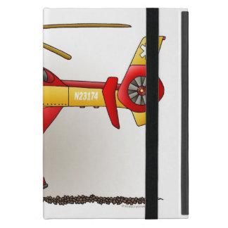 Ambulancia del helicóptero iPad mini protector