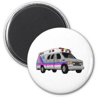 Ambulancia Imán Redondo 5 Cm