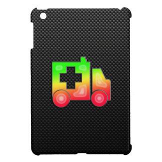 Ambulancia lisa iPad mini fundas