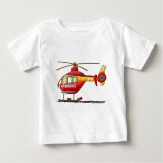 Ambulancia médica del helicóptero del rescate del t shirt