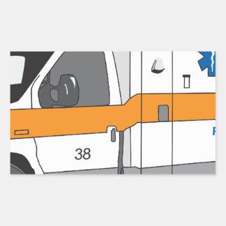 Ambulancia Rectangular Altavoz