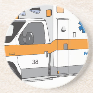 Ambulancia Posavasos Diseño