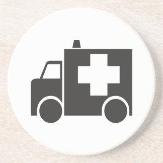Ambulancia Posavasos Manualidades