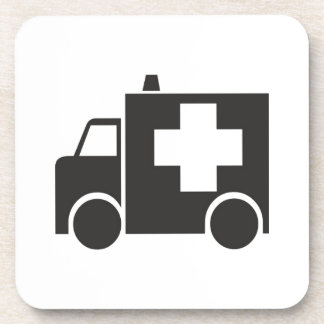 Ambulancia Posavasos De Bebidas