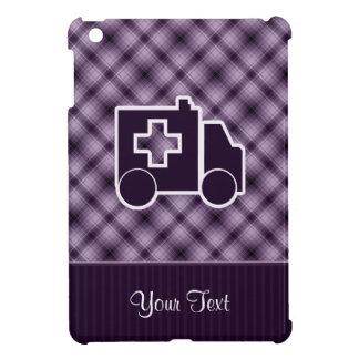 Ambulancia púrpura iPad mini carcasas