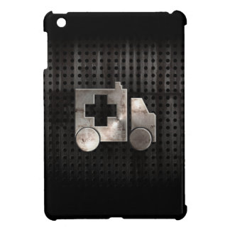 Ambulancia rugosa iPad mini coberturas