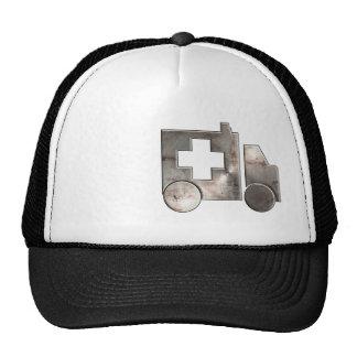 Ambulancia rugosa gorra