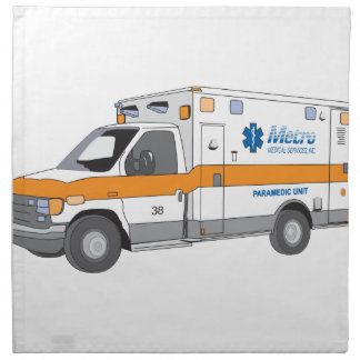 Ambulancia Servilletas De Papel