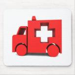 ambulancia tapetes de ratones