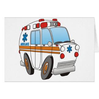 Ambulancia Tarjeta De Felicitación