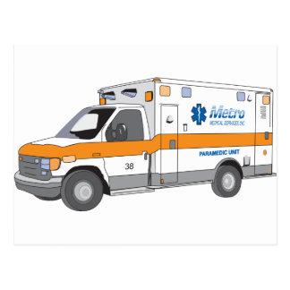 Ambulancia Tarjeta Postal