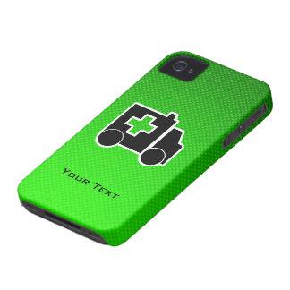 Ambulancia; Verde iPhone 4 Case-Mate Protector