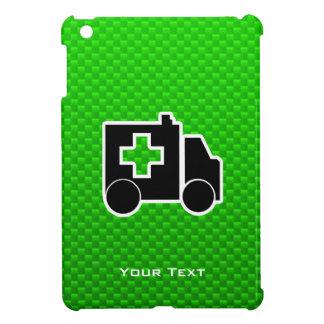 Ambulancia; Verde iPad Mini Protector